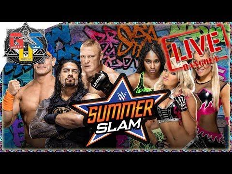 WWE SUMMERSLAM 2017 Live Stream FULL SHOW...