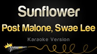 Post Malone, Swae Lee - Sunflower (Karaoke Version)