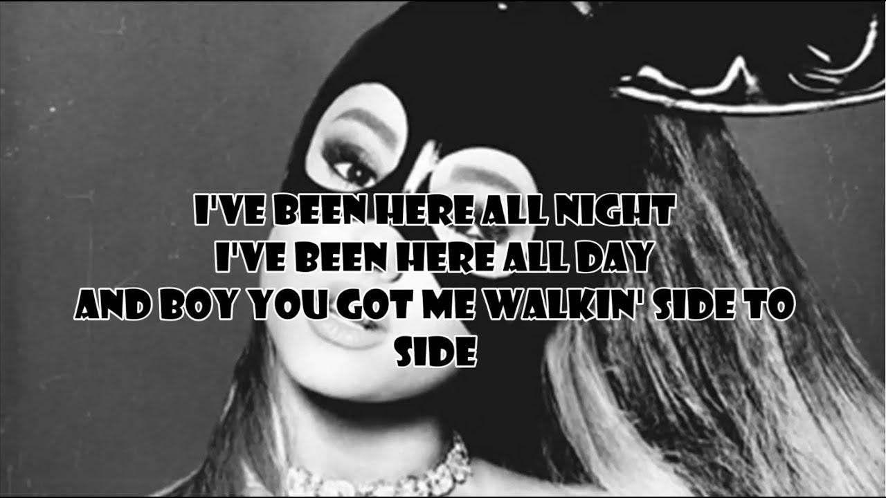 Ariana Grande - Side To Side ft. Nicki Minaj (Lyric Video) - YouTube