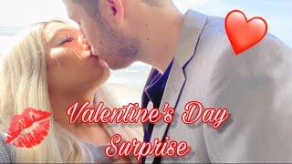Valentine's Day Surprise! ❤️