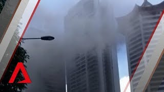 Fire at Grand Hyatt in Orchard Road area