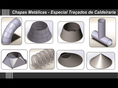 Traçados de Caldeiraria SolidWorks da MaxDesign - Modo de Uso