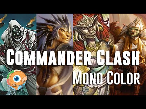 Commander Clash 6: Mono Color - Shirei, Kemba, Shizuko, Daretti