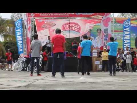 Cooper Shuffle Family at HUT Tribun Pekanbaru by Telkomsel