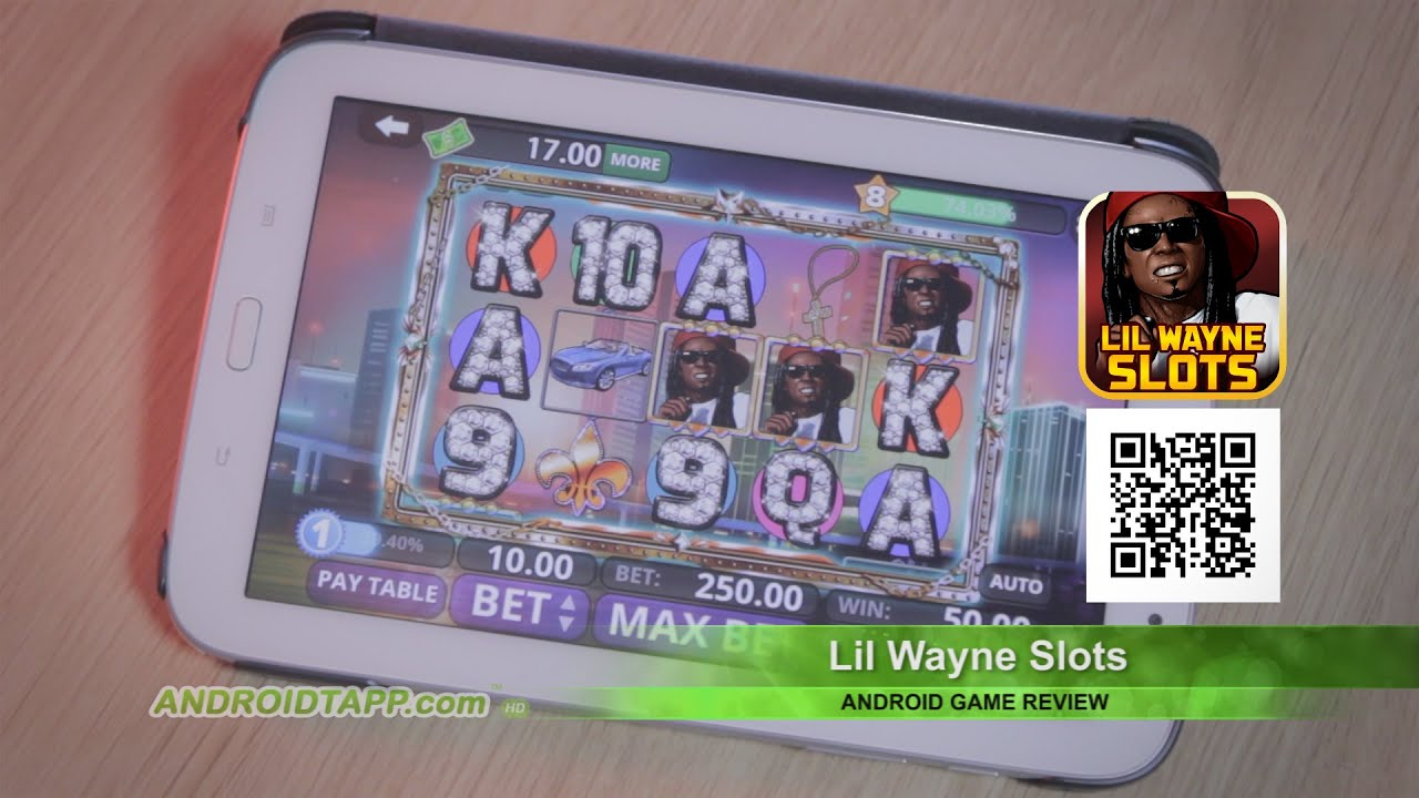 Lil Wayne Games For Ps3 : Lil wayne slots android game review youtube