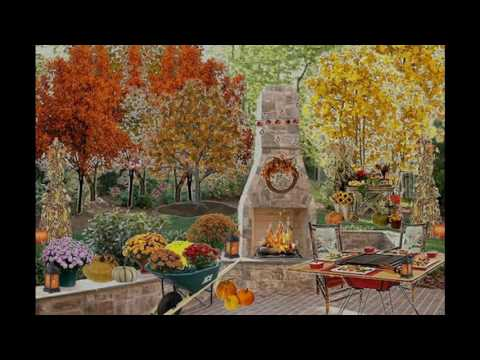 Fall party themed decorating ideas