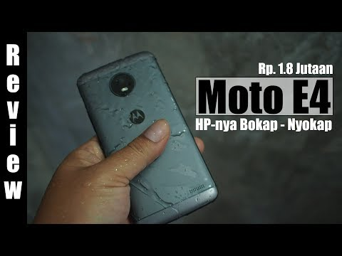 Review : Motorola Moto E4 Indonesia : HP-nya Bokap - Nyokap