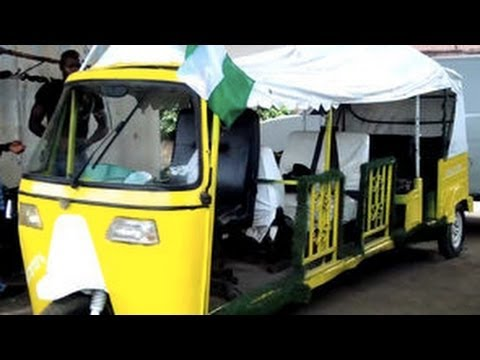 The Home-Made Nigerian Limousine!