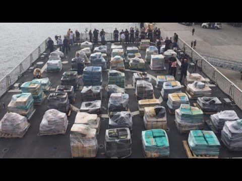 26 Tons Of Cocaine Seized Offshore In Historic U.S. Drug Smuggling Bust