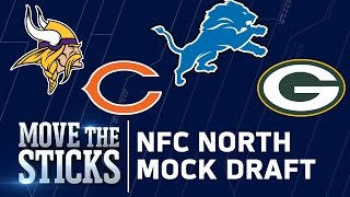NFC North 2017 Mock Draft | Perfect Pairings for Packers, Lions, Vikings, & Bears | MTS Free HD Video