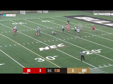 Bryant Men's Lacrosse Vs. Boston University Highlights