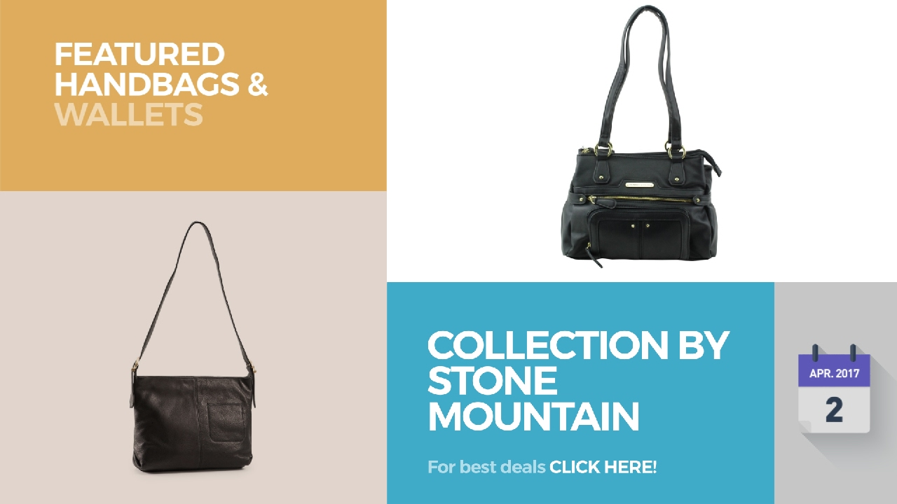 Collection By Stone Mountain Featured Handbags Wallets