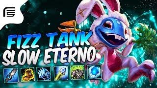 FIZZ TANK GAMEPLAY - SLOW ETERNO BUILD - FRONT LINE UTILITY - League of Legends - [ PT-BR ]