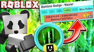 Helping My Girlfriend Get Her Master Bamboo Field Badge In Roblox Bee Swarm Simulator