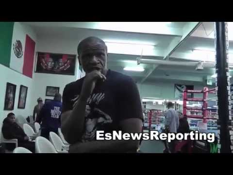 floyd mayweather sr 50 cent is a player hater - EsNews boxing