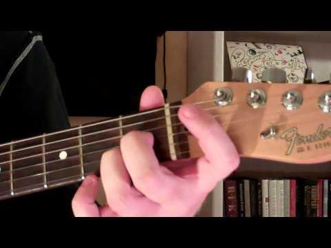 How To Play the Bb13 Chord On Guitar (B flat thirteenth)