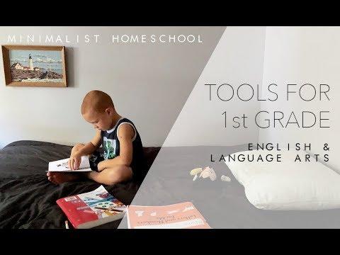 Minimalist Homeschool | 1st Grade | English