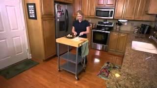 200932 - Folding Kitchen Cart
