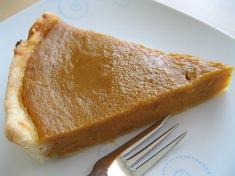 Pumpkin Pie (Kürbis- Pastete)