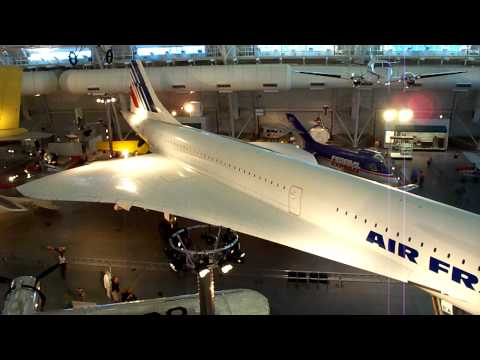 National Air & Space Museum Concorde (HD)