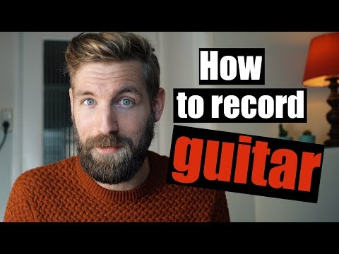 How to record guitar