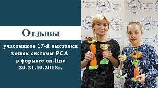 Отзывы участников 17-й выставки кошек on-line системы PCA