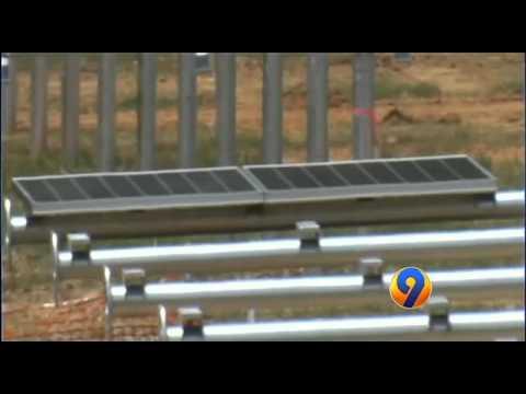 Solar Farm for Apple's NC Data Center
