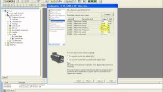 Siemens CU320 & S120 Sinamics Drive Setup in Starter.