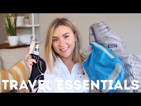 5 TRAVEL ESSENTIALS | My Must-Have Items On The Go
