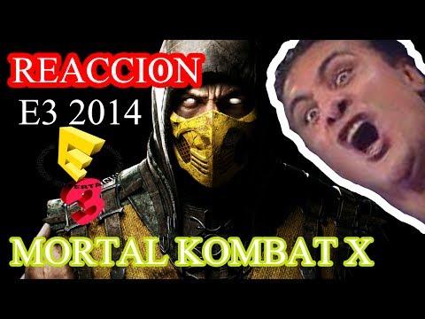 Mortal Kombat X E3 2014 - Reacción (Español)