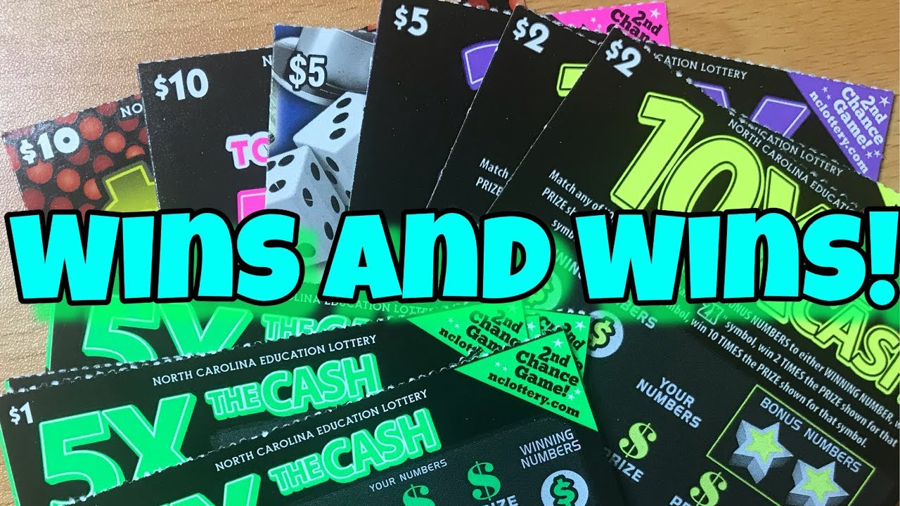 WINNERS EVERYWHERE! $39 Mix from the North Carolina Education Lottery