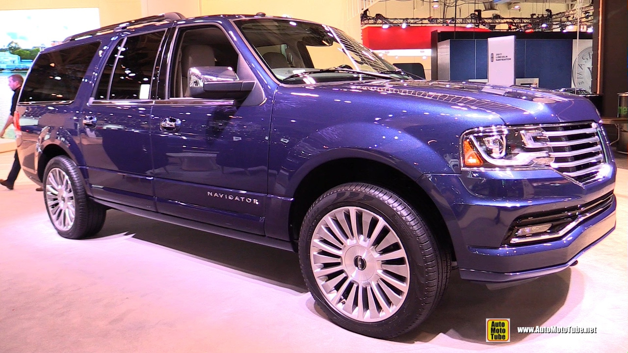 2017 lincoln navigator exterior and interior walkaround 2017 toronto auto show