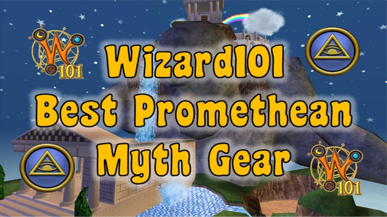 wizard101 best promethean myth gear youtube