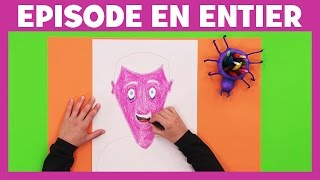Art Attack - La technique des portraits anciens - Disney Junior - VF