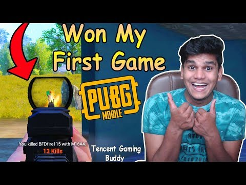 Chicken Dinner in First Game of PUBG MOBILE (14 Kills) - PUBG Mobile Funny Moments BeastBoyShub