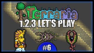Blind Death! Underground Corruption & Temple! || Let's Play Terraria 1.2.3 [episode 6]