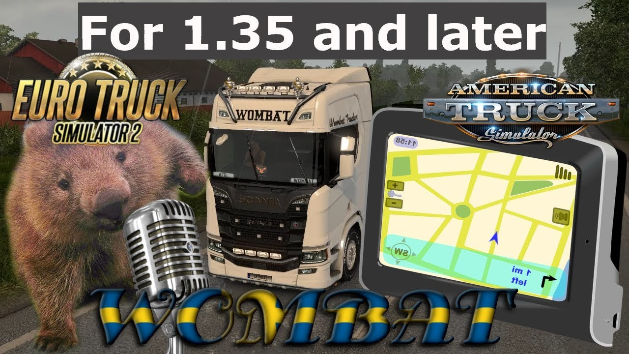 ETS2 & ATS 1 35 - How to make your own GPS navigation voice mod