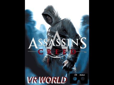 Assassin's Creed 1 Walkthrough Part 2 VR Cardboard Video