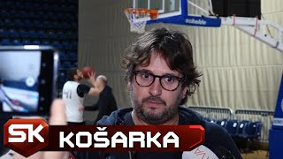 Andrea Trinkijeri Pred Utakmicu Evrokupa Partizan - Rytas   SPORT KLUB Košarka