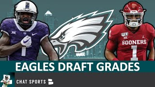 Eagles Draft Grades: All 7 Rounds From The 2020 NFL Draft Feat. Jalen Reagor And Jalen Hurts