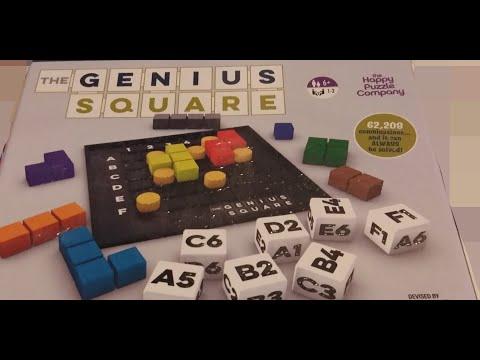The Genius Square Board Game