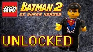 LEGO Batman 2 DC Superheroes - How to Unlock Clark Kent