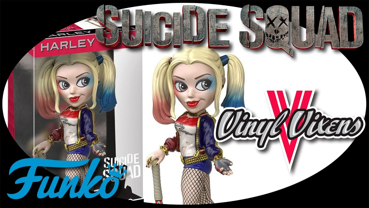 Suicide Squad Harley Quinn Rock Candy vinyl collectible figure Funko