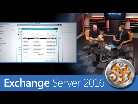 First look at Exchange Server 2016 and what's new for admins