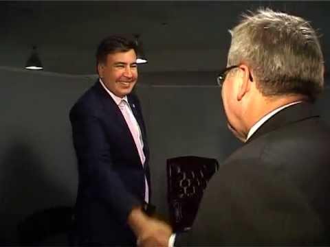 Meeting with the President of Poland / შეხვედრა ბრონისლავ კომოროვსკისთან
