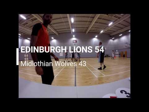 Edinburgh Lions - West Lothian Wolves (5 Sept'17)