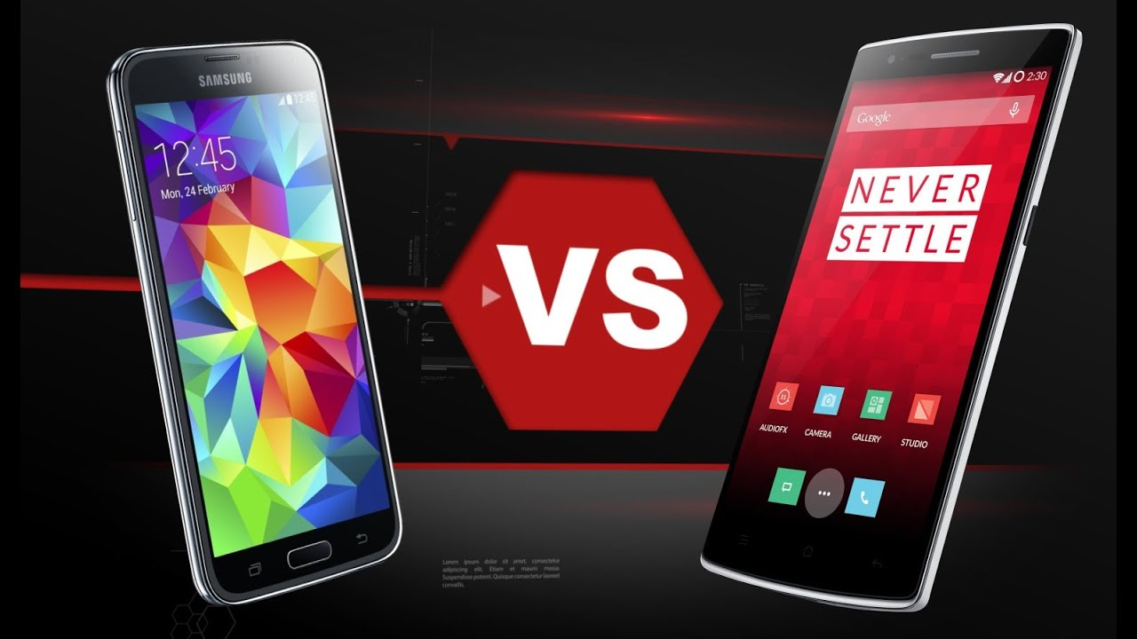 One Plus One Vs. Galaxy S5
