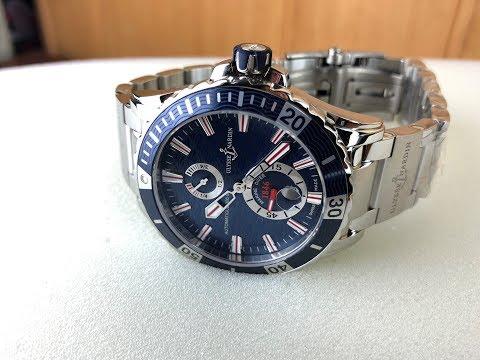 Ulysse Nardin Marine Diver Blue Dial 44mm (bracelet)