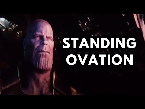 Avengers Infinity War ending gets a Standing Ovation (Audience Reactions) (Audio)