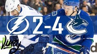 Canucks vs Lightning | Highlights | Dec. 16, 2016 [HD]